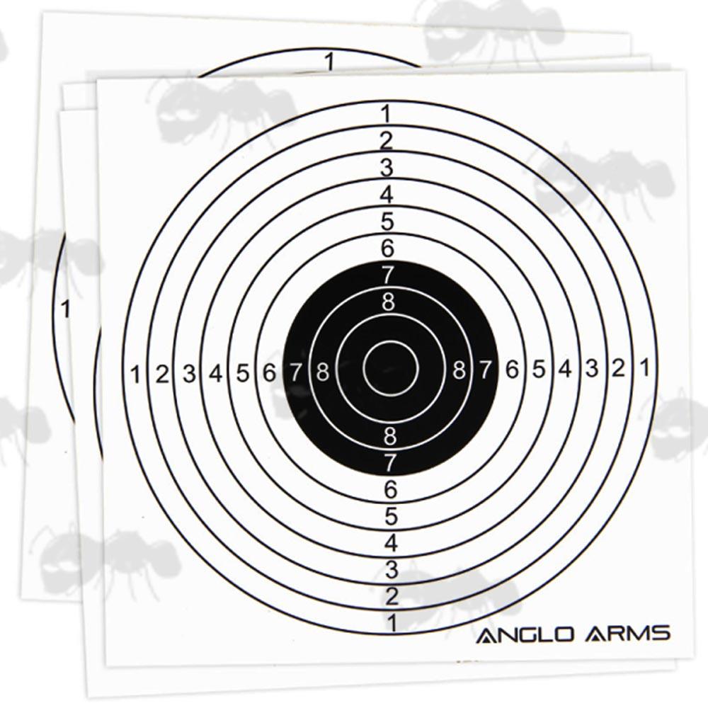 shooting paper targets