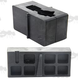 AR / M16 Black Polymer Lower and Upper Receiver Vise Blocks