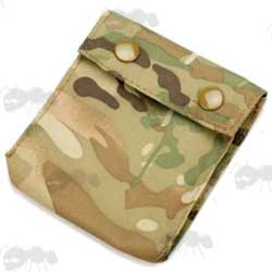 Multicam Counterweight Pouch for Army Helmets