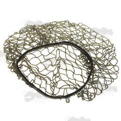 Olive Green Nylon Mesh Army Helmet Cover