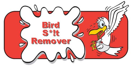 Bird Muck Remover Spray By Abbey Care Solutions