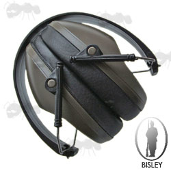 Green Ear Muff Shooters Hearing Protection by Bisley