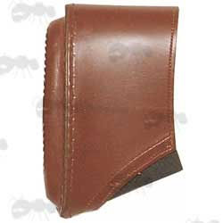 12 Gauge Shotgun Leather Slip-on Recoil Pad