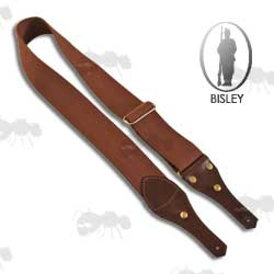 Bilsey Brown Canvas and Leather Gun Sling