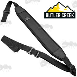 New Butler Creek Rhino Rib Firearm Sling on a Display Hanger Card