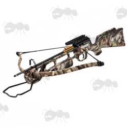 Jaguar All Camo Stock 175lb Draw Weight Rifle Crossbow