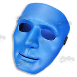 Blue Coloured Koei Man Face Airsoft Mask