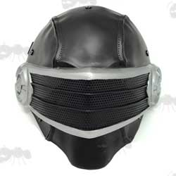 Snake Eyes Black Ninja G.I. Joe Style Fibreglass Mask