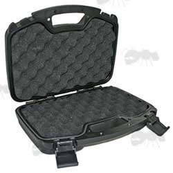 Thick Padding, Extra Large Hard Plastic Case with for Pistol, Handgun or Revolver Storage
