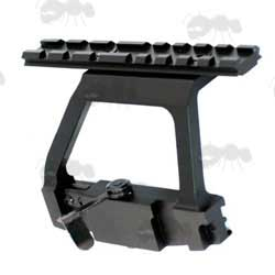AK Rifle QD Side Bracket Rail Mount