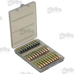 MTM Smokey Clear 22 Caliber Long Rifle Ammo Wallet