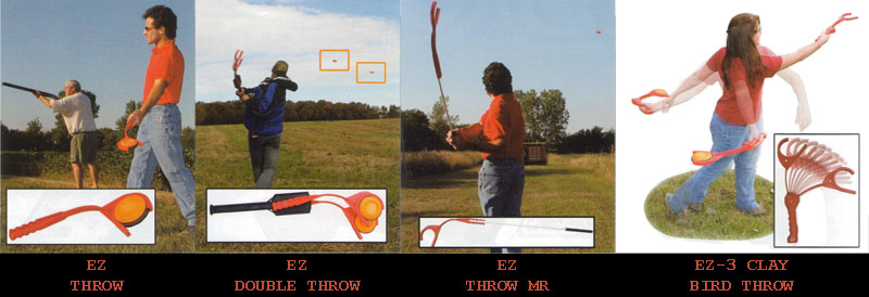 MTM Clay Pigeon Thrower Guide