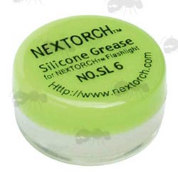Small Tub of NexTorch Flashlight Silicone Grease
