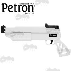 Petron Stealth White Sucker Dart Pistol
