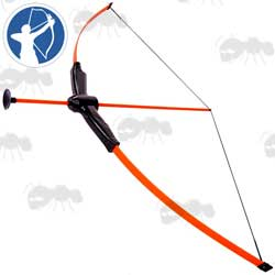 Petron Sureshot Orange Sucker Bow and Arrow