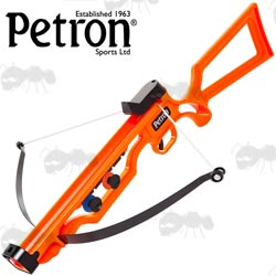 Petron Sureshot Orange Sucker Dart Rifle Crossbow