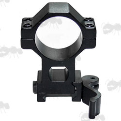 Throw-Lever Quick-Release Rifle Scope Ring Mounts for Weaver / Picatinny Rails