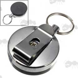 Retractable Keyring with Belt Clip