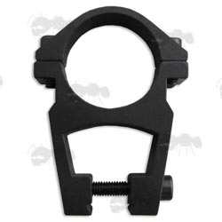 High-Profile Double-Clamped Open Design 25mm Scope Ring for Dovetail Rails