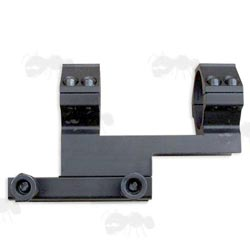 One Piece Forward Reach 30mm High-Profile Scope Ring Mount for Weaver / Picatinny Rails