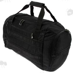 1200D Black Polyester Ballistic Shooters Utility Grab Bag With 50 Litre Capacity