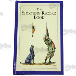 Hard Back Shooting Record Keeping Book by Bryn Parry