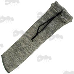 Grey Coloured Silicone Coated Pistol Cover Sock