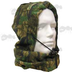 Smokey Branch Camo Snood Head Cover