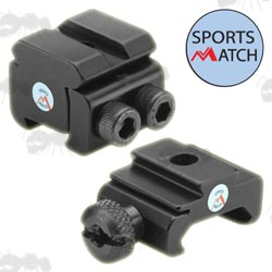Sportsmatch Dovetail and Weaver Picatinny Rail Adapters