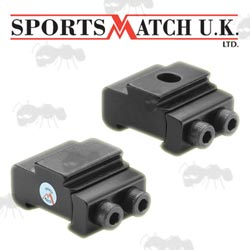 Tikka / CZ 15mm Wide Rail to 9.5mm Dovetail Rail Adapter