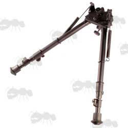 Telescopic Leg Rifle Bipod ~ Prone / Sitting with Tilt