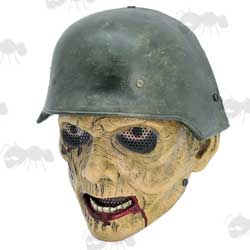 Call of Duty Style German Zombie Soldier Airsoft Mask