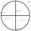 FINE Crosshair Scope Reticle