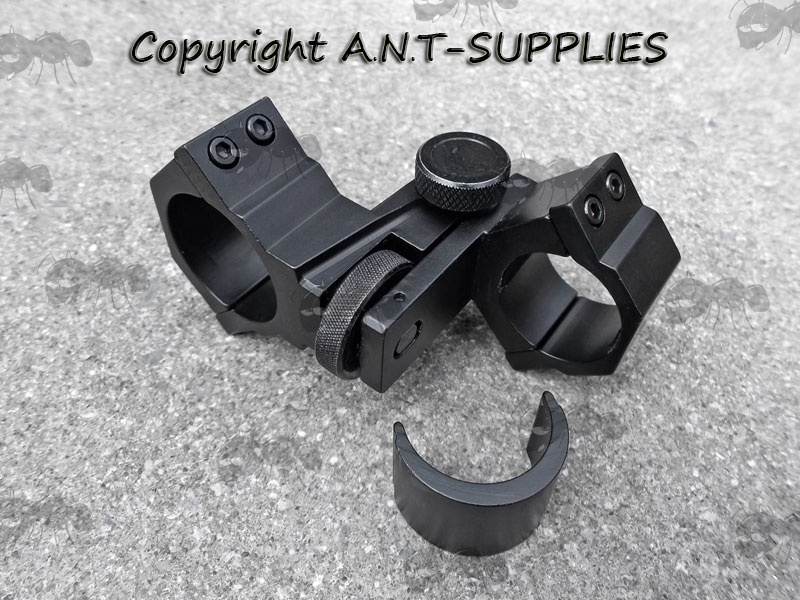 Laser Illuminator Mount with 25mm / 30mm Scope Tube Fitting