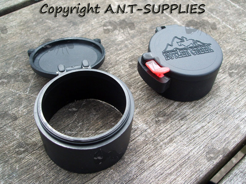 42.2mm and 46.7mm Butler Creek Flip-up Lens Caps