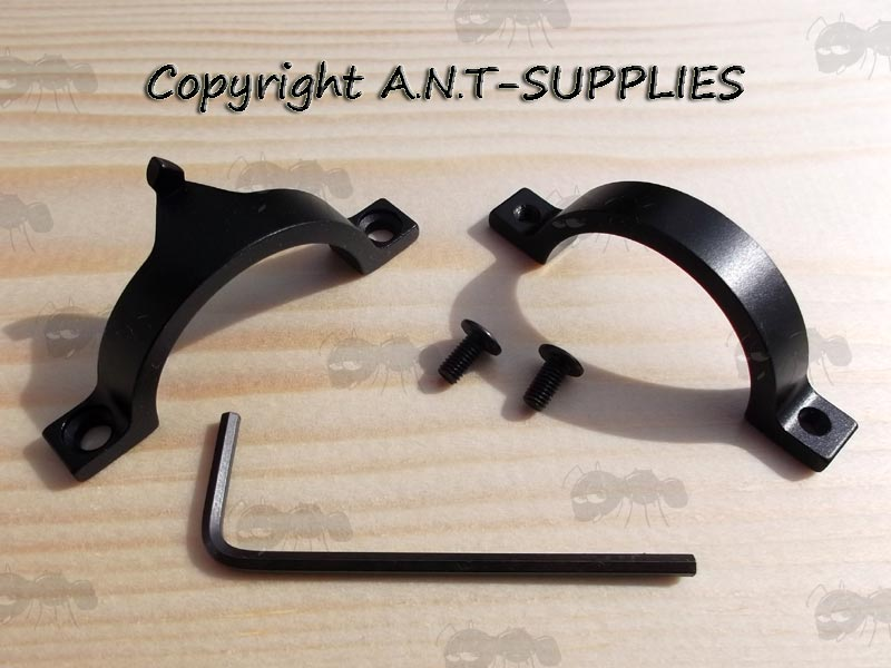 Dismantled Ring Mount Front Sight Post with Allen Key