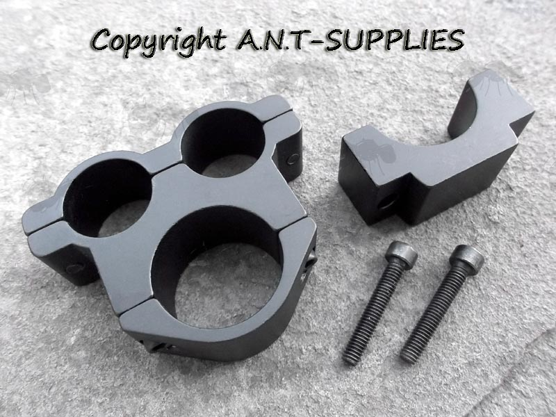 25mm Scope Tube Mount 2 x 18mm Accessory Rings